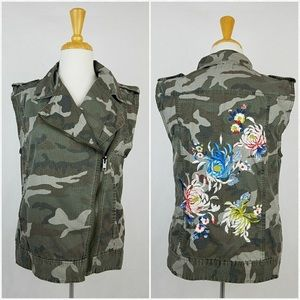 Silence and noise camo vest